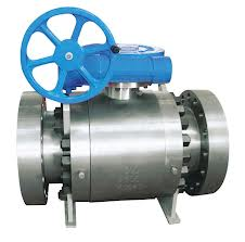 API 6D forged steel ball valves,flanged,Worm Gear,ASME,B16.34