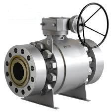 Stainless Steel Trunnion-Mounted Ball Valve: RF RTJ,PTFE Seat