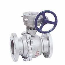 Carbon Steel Turbine Ball Valves:Flanged End,PTFE Seat,DN250,WCB