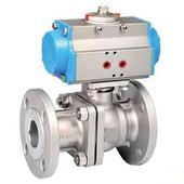 MSS-SP-72 Pneumatic Ball Valve:ANSI B16.5 Flange,Butt-Welding End