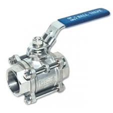 3-piece Stainless Steel Ball Valves,Full Port,Socket Weld ISO Mount